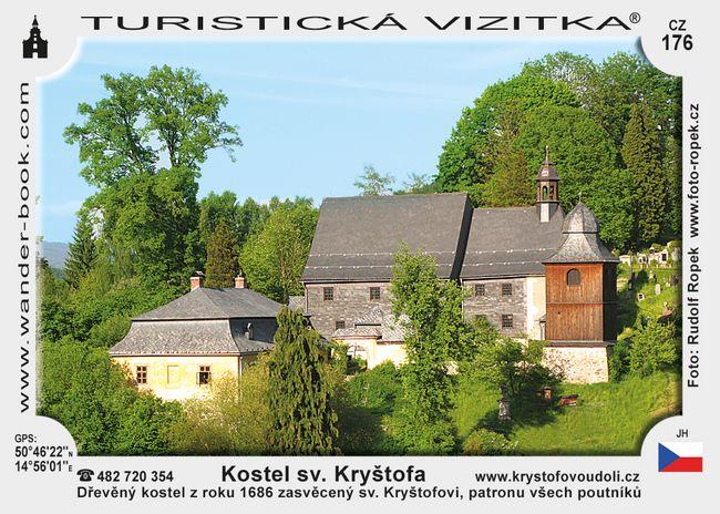 Kostel sv. Kryštofa v Kryštofově Údolí