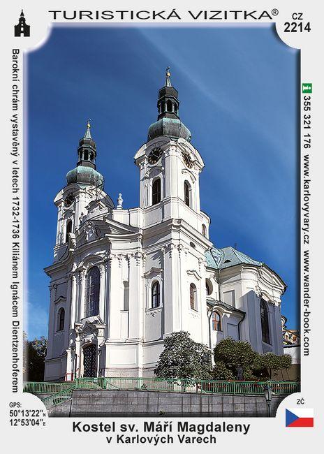 Kostel sv. Máří Magdaleny v Karl. Varech