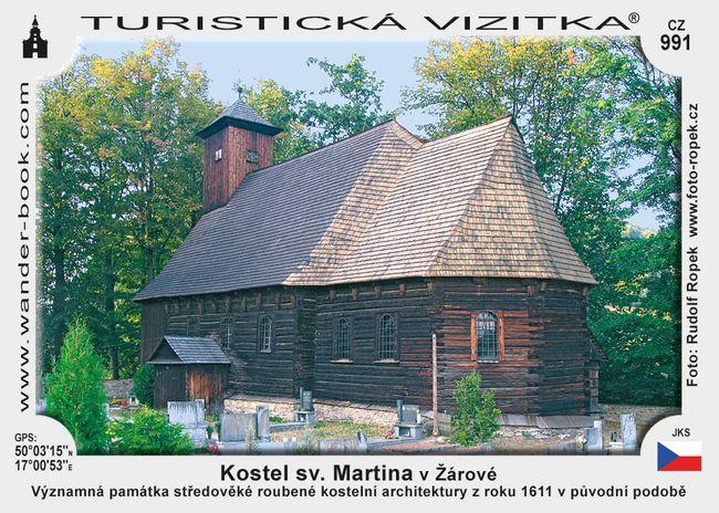 Kostel sv. Martina v Žárové