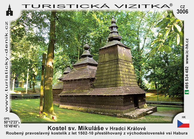 Kostel sv. Mikuláše v Hradci Králové