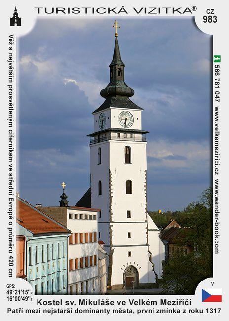 Kostel sv. Mikuláše ve Velkém Meziříčí
