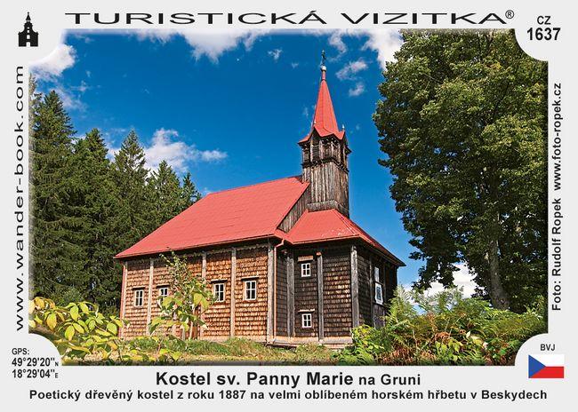 Kostel sv. Panny Marie na Gruni