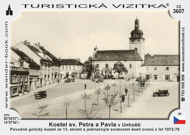 Kostel sv. Petra a Pavla v Unhošti