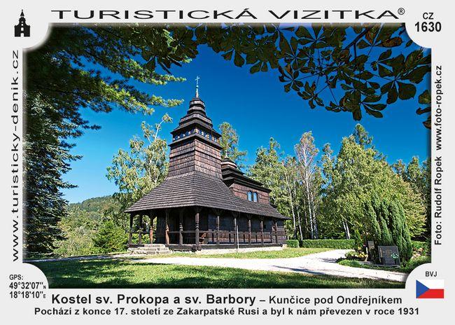 Kostel sv. Prokopa a sv. Barbory – Kunčice pod Ondřejníkem