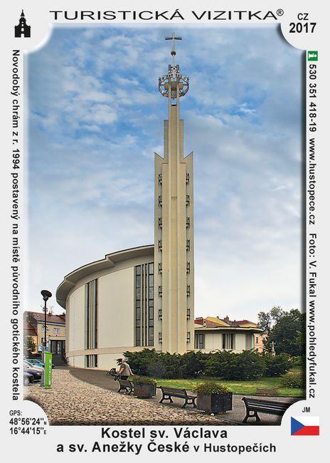 Kostel sv. Václava, Anežky Čes. v Hustopečích