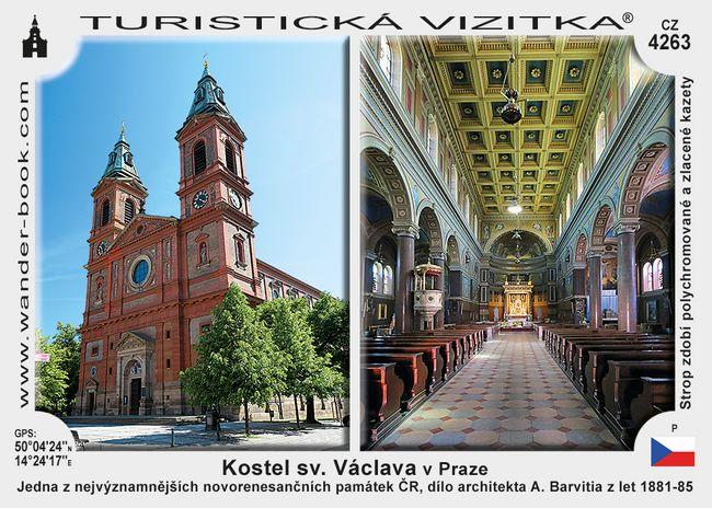 Kostel sv. Václava v Praze