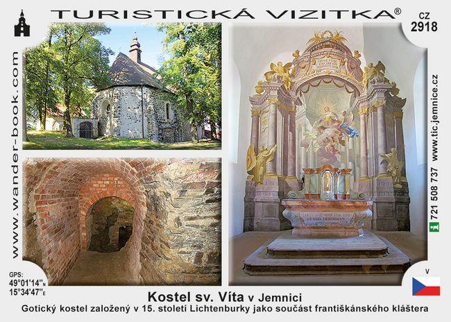 Kostel sv. Víta v Jemnici