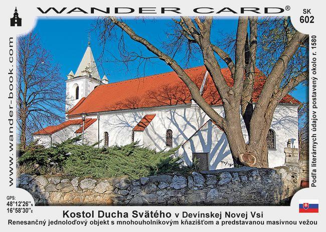 Kostol Ducha Svätého v Devínskej Novej Vsi