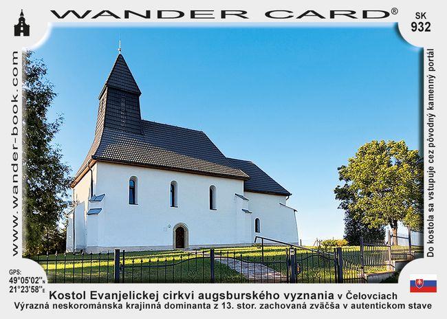 Kostol Evanjelickej cirkvi augsburského vyznania v Čelovciach