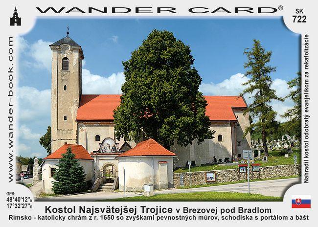 Kostol Najsvätejšej Trojice v Brezovej pod Bradlom