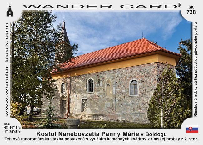Kostol Nanebovzatia Panny Márie v Boldogu