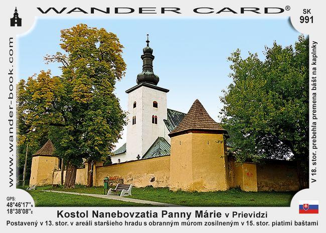 Kostol Nanebovzatia Panny Márie v Prievidzi