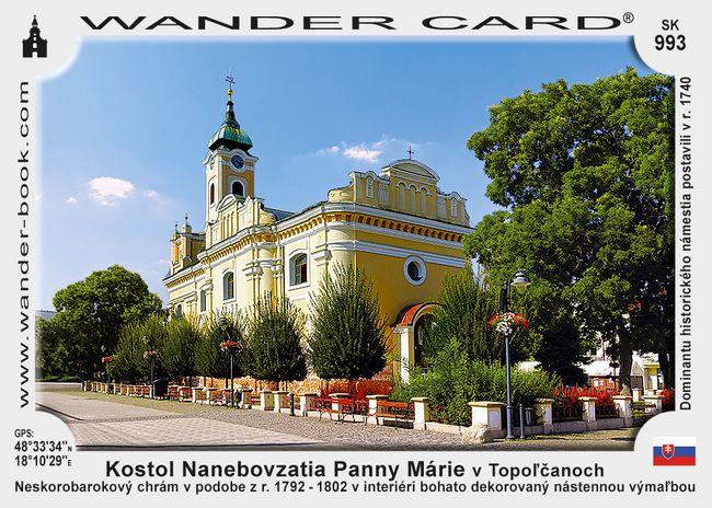 Kostol Nanebovzatia Panny Márie v Topoľčanoch