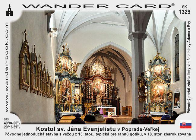 Kostol sv. Jána Evanjelistu v Poprade-Veľkej