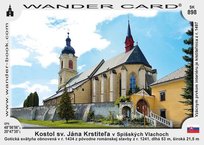 Kostol sv. Jána Krstiteľa v Spišských Vlachoch