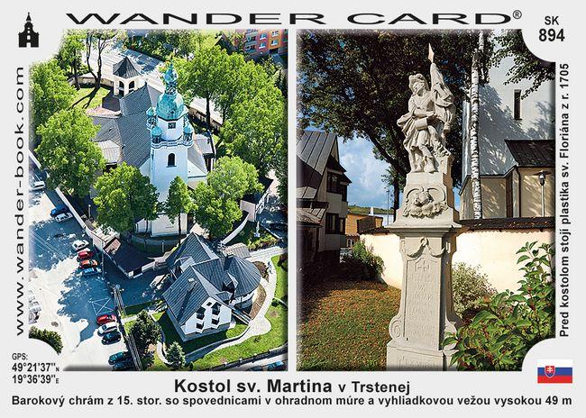 Kostol sv. Martina v Trstenej