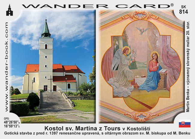 Kostol sv. Martina z Tours v Kostolišti