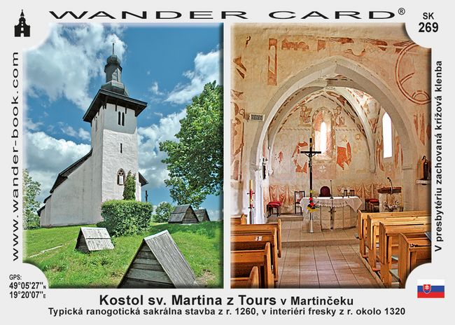 Kostol sv. Martina z Tours v Martinčeku