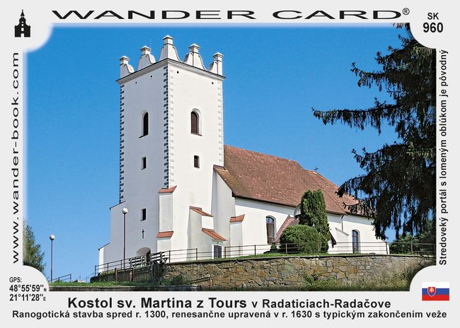 Kostol sv. Martina z Tours v Radaticiach-Radačove