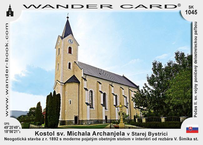 Kostol sv. Michala Archanjela v Starej Bystrici