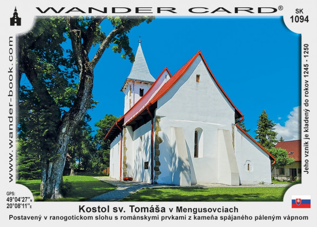 Kostol sv. Tomáša v Mengusovciach