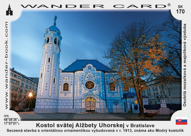 Kostol svätej Alžbety Uhorskej v Bratislave