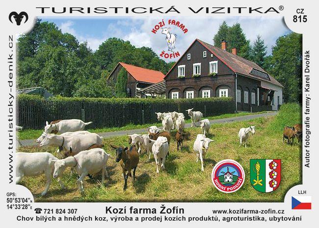 Kozí farma Žofín