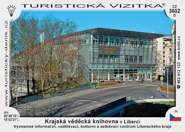 Krajská vědecká knihovna v Liberci D