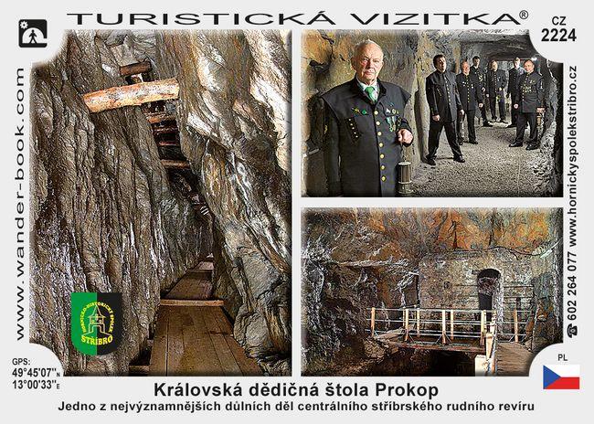 Královská dědičná štola Prokop