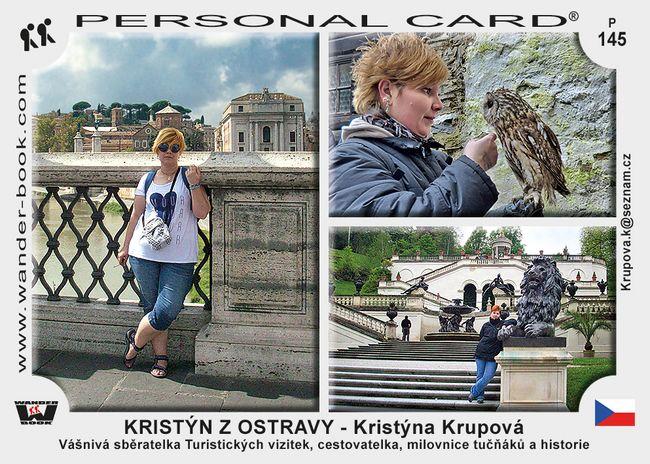 KRISTÝN Z OSTRAVY - Kristýna Krupová