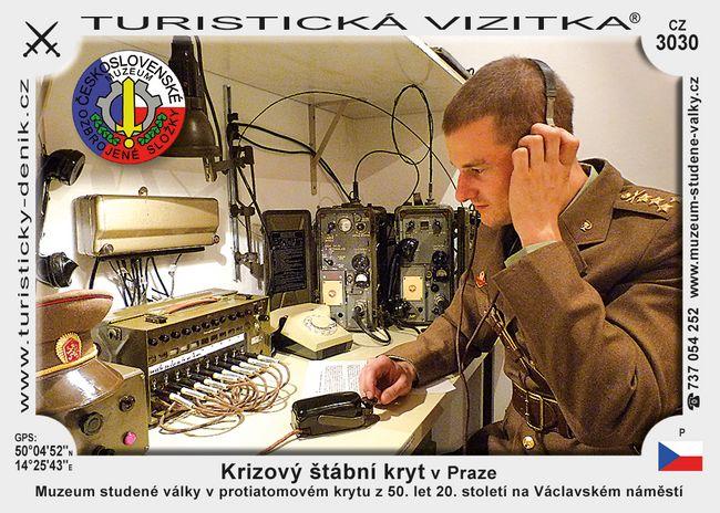Krizový štábní kryt v Praze