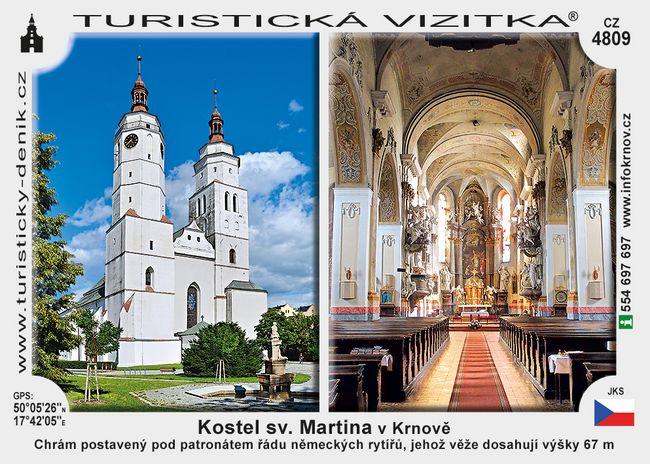 Kostel sv. Martina v Krnově