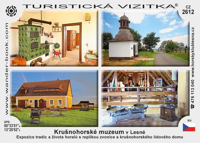 Krušnohorské muzeum v Lesné