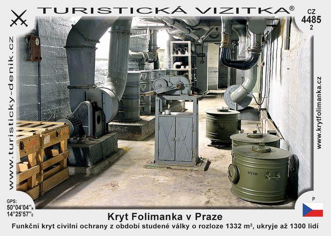 Kryt Folimanka v Praze