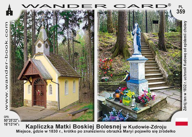 Kudowa-Zdrój kapliczka MB Bolesnej