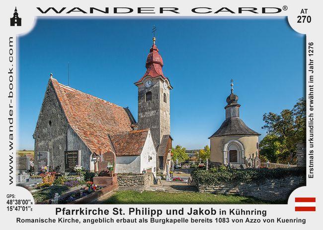 Pfarrkirche St. Philipp und Jakob in Kühnring