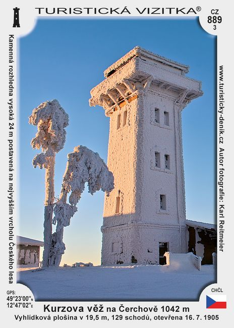 Kurzova věž na Čerchově Z
