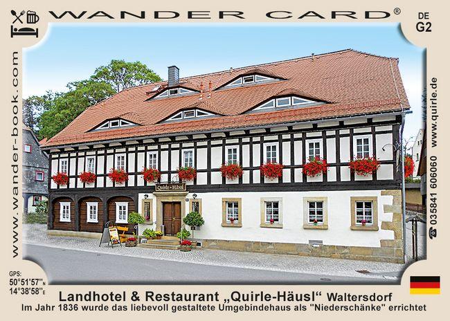 Quirle-Häusl in Waltersdorf