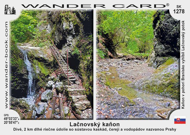 Lačnovský kaňon