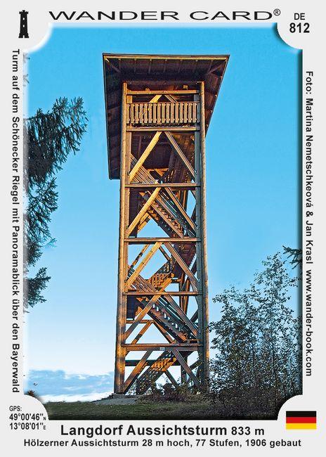 Langdorf Aussichtsturm
