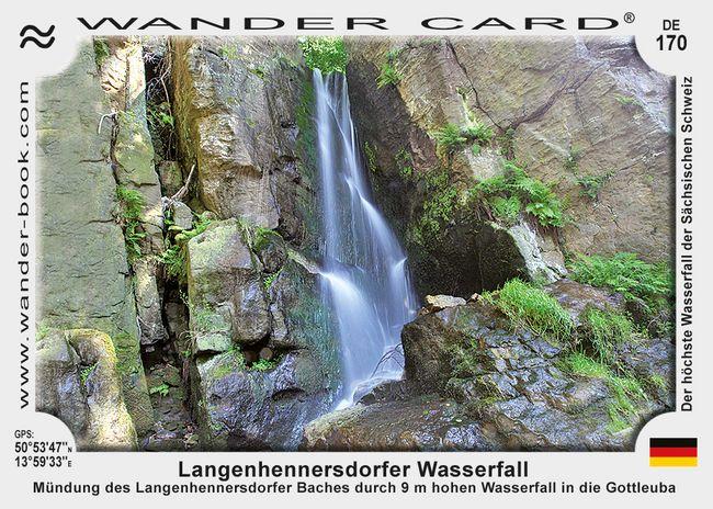 Langenhennersdorfer Wasserfall