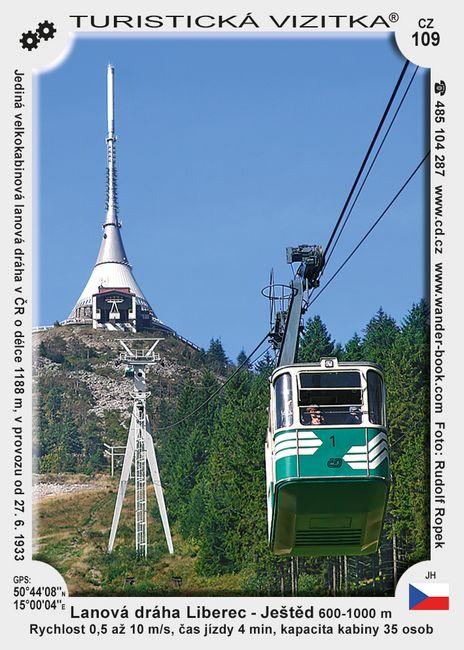 Lanová dráha Liberec - Ještěd