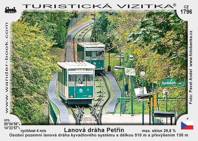Lanová dráha - Petřín