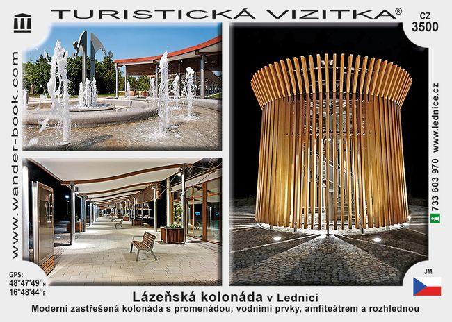 Lázeňská kolonáda v Lednici