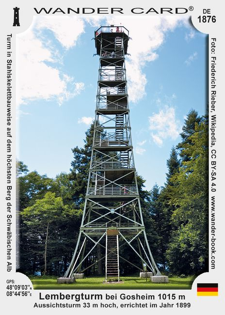 Lembergturm bei Gosheim