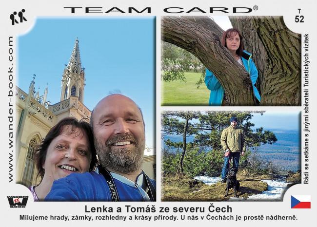 Lenka a Tomáš ze severu Čech