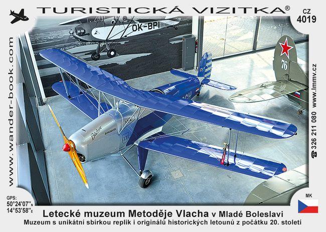 Letecké muzeum Metoděje Vlacha v Mladé Boleslavi
