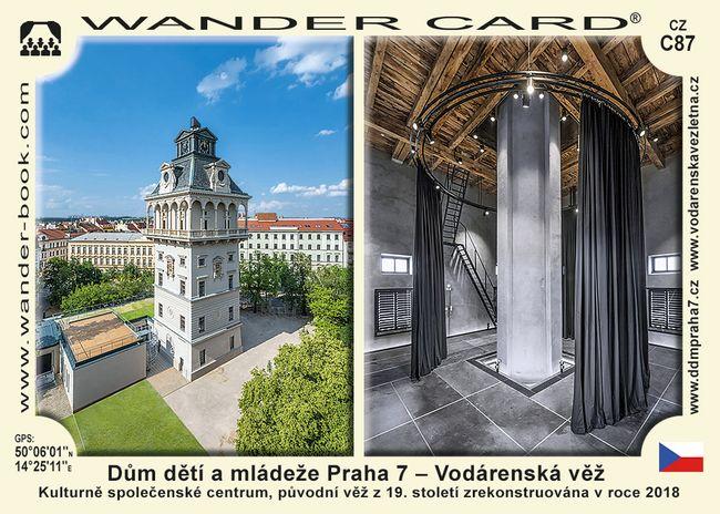Dům dětí a mládeže Praha 7 – Vodárenská věž