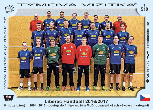 Liberec Handball 2016/2017