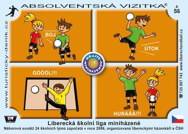 Liberecká školní liga miniházené